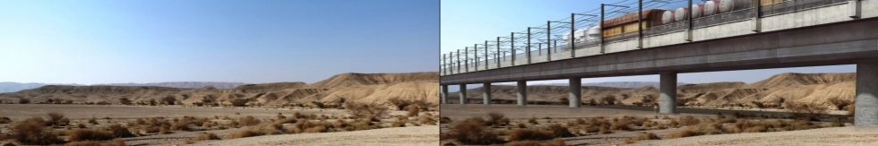 Plans for the proposed Eilat Railway threaten six nature reserves