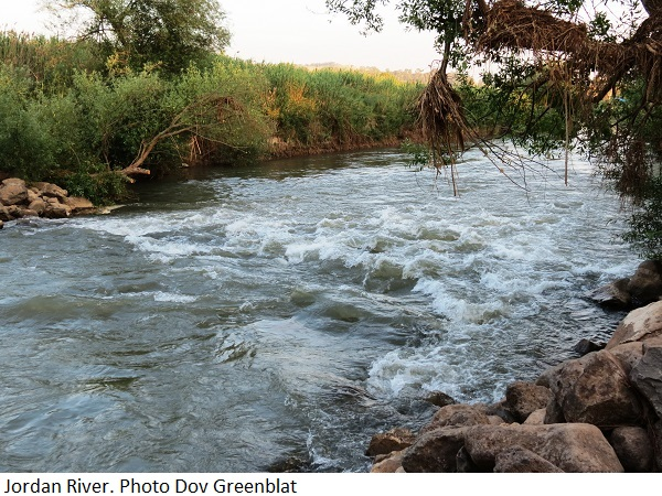Jordan River. Photo Dov Greenblat