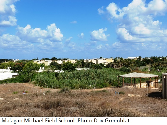 Ma'agan Michael Field School. Photo Dov Greenblat