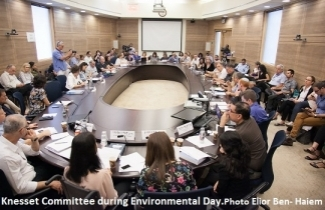 Environmental Day at the Knesset