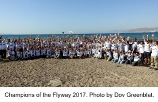 Champions of the Flyway 2017 Teams. Photo by Dov Greenblat.